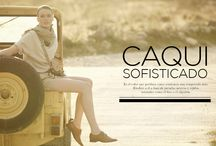 Caqui sofisticado / #Fashion #Women #Military #Look  / by El Corte Inglés
