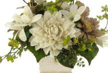 Floral -- Silk