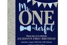 Oakley's First Birthday