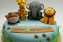 Cake art animals