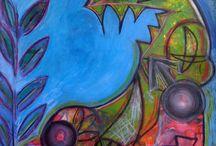 Amy Steinberg Art / My paintings, works on paper, art journaling, etc