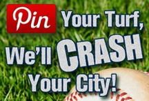 Pin Your Turf / We're teaming up with MLB Network looking for the biggest fans in America. Repin your favorite team and Yard Crashers could crash your city. The city with the most repins by May 8 at 5 p.m. ET wins! Don't see your team? We might feature it next year!