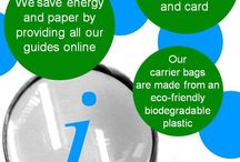 Green and eco-friendly / A selection of images showing some of the ways we are a #GreenUniLibrary