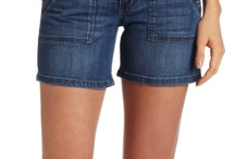 Contemporary Women`s Shorts