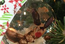 Fantastic Forest 2015 / Local youth groups have again decorated tree with animal-themed ornaments.