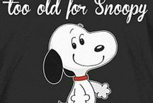 Never too old for Snoopy