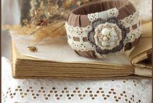 браслеты ручной работы текстильные