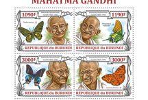"New Stamps Issues | No.333 / BURUNDI 05 08 2013 ""Celebrities - II"" - BUR13211a-BUR13220b"