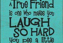 Vriendschap !