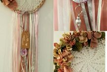 dream catcher, made by me at cotton and rose