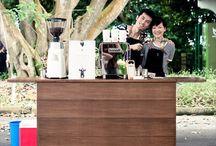 Coffee stánek