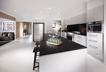 Caesarstone Jet Black / Jet Black is the ultimate black surface with a consistent yet subtle pattern offering modern aesthetics with durability. http://www.caesarstone.com.au/colour/3100-jet-black