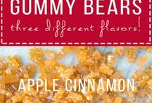 gummy bears. how to make