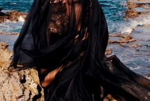 Gothic Beach / Collaborative board for photo shoot/short story.