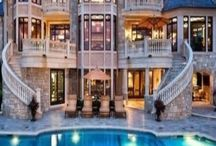 Mansions / The people who own these mansions are related to me
