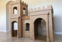 Cardboard box idea for kids