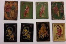"Persian Qajar Playing Cards for Game of ""As Nas"""