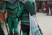 Costume insetto steam punk