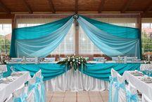 Türkiz esküvő