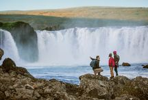Iceland / In 2018, you can navigate the diverse landscapes of Iceland and explore the natural powers of majestic waterfalls, massive glaciers and stunning volcanoes.