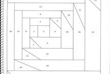 Лоскутное шитье (схемы)