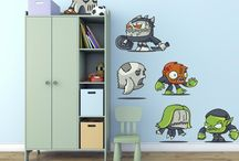 Kids Room / Fun and Colorful Wall Decals that are perfect for children. These designs will brighten up a room and bring joy to your little ones