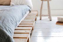Makeshift bed