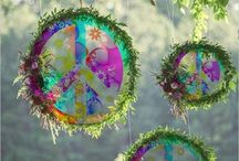 hippie garden decor