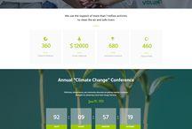 Web design layouts GREEN