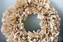 Book Wreath / by Andrea Oakeson