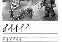 Psaní a grafomotorická cvičení