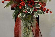 Rangkaian Bunga Christmas
