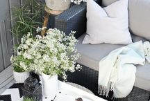 OUTDOOR INSPIRATION / Patios, Balconies, Backyards and More