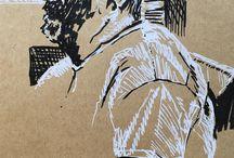 my work #Olympic expert hiding in bar. #ink #drawing #doodle #sketchbook #sketch #france