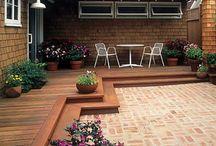 Hadley outdoor living space