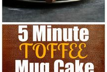 Mug Cakes / Cakes for one, made in a hurry & with practically no dishes!   | Mug Cakes | Quick | Easy | Snacks |
