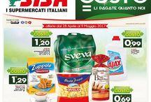 Offerte SISA - Puglia / Promozioni valide dal 28 aprile al 9 maggio 2017 in tutti i supermercati SISA della Puglia. Visualizza il volantino cliccando sulla rispettiva immagine. Se vuoi scaricalo per averlo sempre a portata di mano sul tuo smartphone. www.sisacentrosud.it