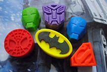 Superhero soap-NerdySoap