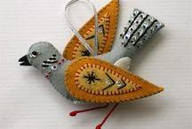 Fabric - Birds