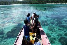 Tempat-tempat wisata di Indonesia / Hmm kira2 kapan ya bisa ke tempat-tempat ini.....