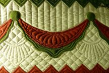 Quilts - Quilting that Amazes or Pleases / Examples of actual quilting that are particularly artful or pleasing.