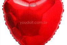 Balões Metalizados / Sua festa ganha muito charme com o uso de balões metalizados! Aproveite e inspire-se!