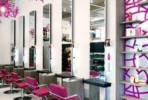 Salon interiors / by Deborah Chalmers Groves