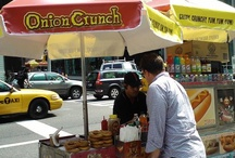 Hot Dog Carts / Hot Dog Carts from around the country featuring Onion Crunch.