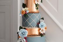 Copper and Grey Wedding