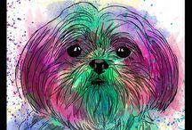 desenhos Cachorro