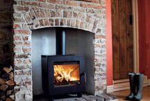 Fireplace ideas / by Marcy Wilson-Eveland