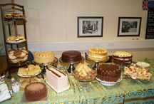 Caaaaake!!! / Lots of different types of homemade cake - proper homemade - not silly cake covered in icky icing - great cake made with butter and tastes as good as it looks. www.thevintagevillagehall.co.uk