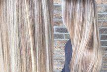 Striper i håret