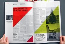 Design de revista / Inspiração